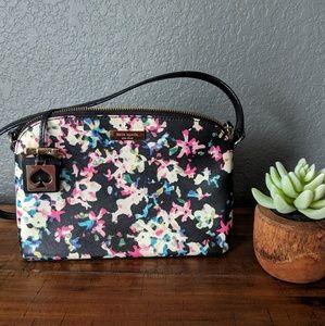 Black Floral Kate Spade Purse